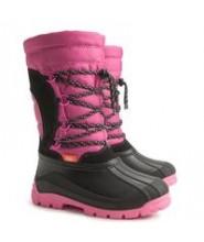 Zimní boty, sněhule Demar Samanta růžové