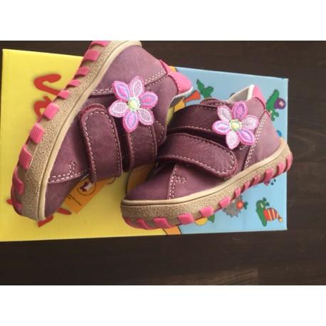 Celokožené dětské boty Jonap 015/M
