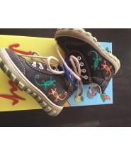 Celokožené dětské boty Jonap 011/S