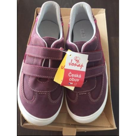 Celokožená dětská obuv Jonap 023/M