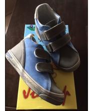 Celoroční dětské boty Jonap 015/M šedo-modrá