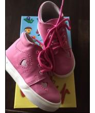 Celoroční dětské boty Jonap 022/M srdce