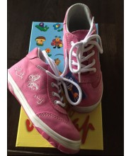 Celoroční dětské boty Jonap 011/M motýl