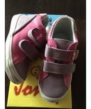 Celoroční dětské boty Jonap 015/M fialovorůžové