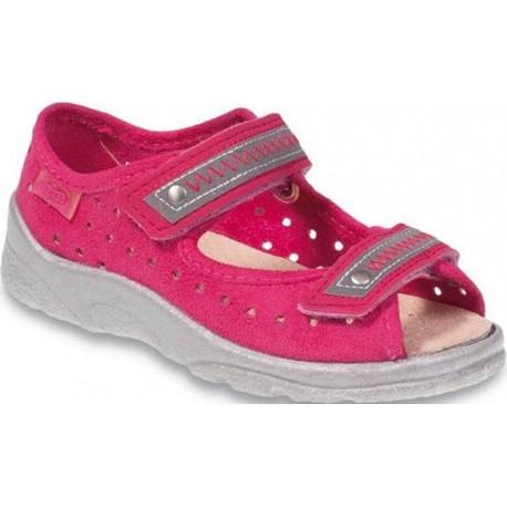 Befado 969Y097 dětské sandále s koženou stélkou