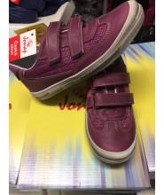 Celokožené boty Jonap vínové