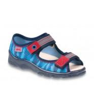 Befado 969Y111 dětské sandále s koženou stélkou