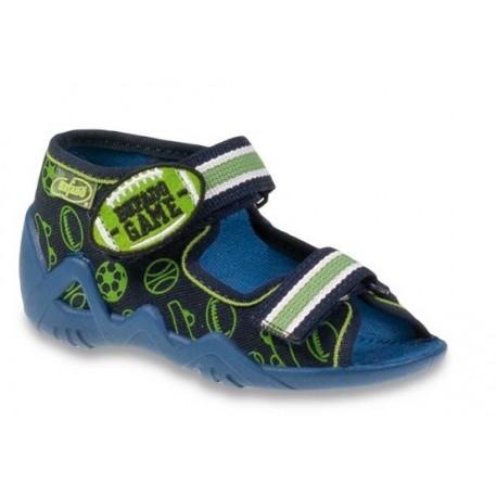 Befado 250p070 chlapecké sandálky, přezuvky