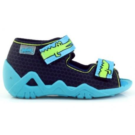 Befado 250p068 chlapecké sandálky, přezuvky